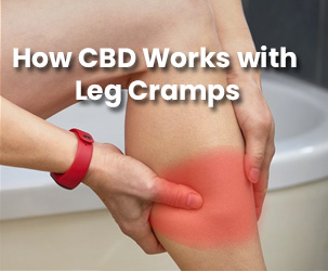 How CBD Works with Leg Cramps?